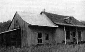 l'une des deux maisons sur le site du sanctuaire