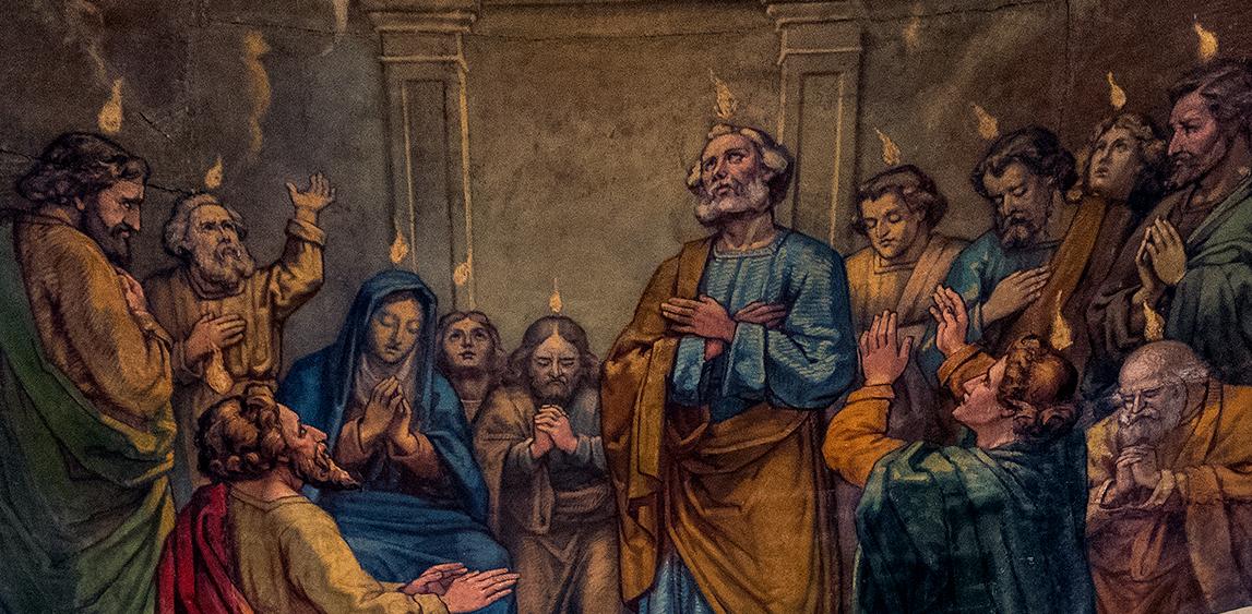 La Pentecôte selon Ozias Leduc