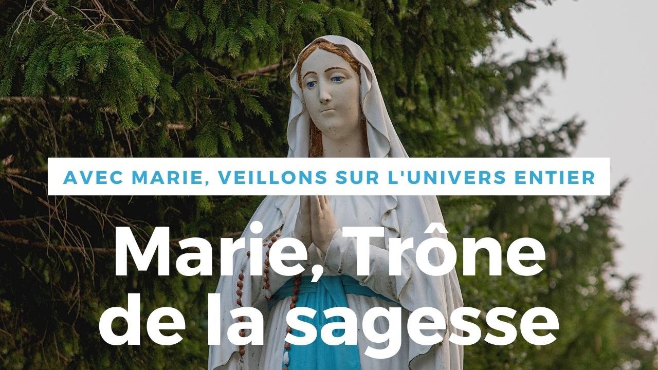 Marie Trône de la Sagesse